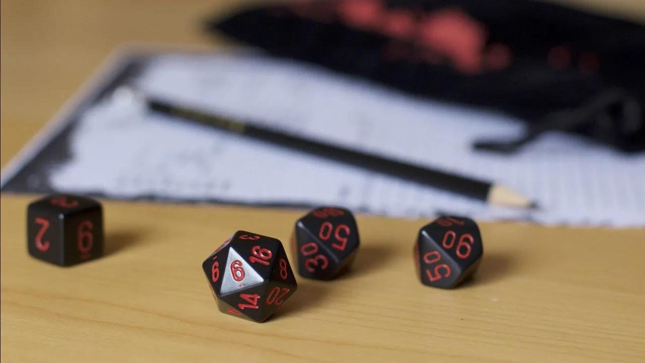 RPG de mesa - Dados