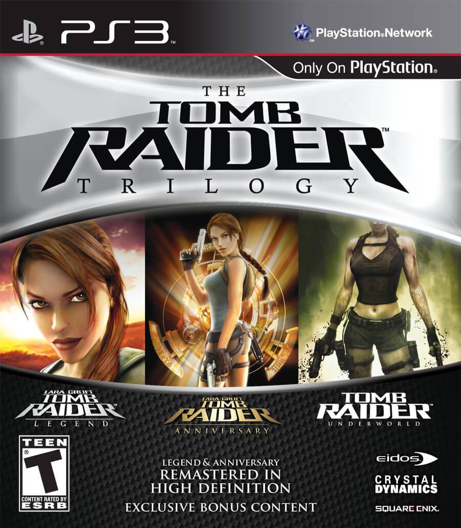 Tomb Raider Trilogy Boxart