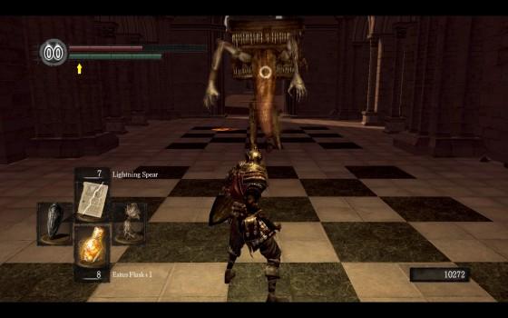 Dark Souls Anor Londo Combat