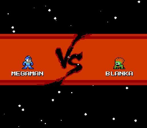 Megaman vs Blanka