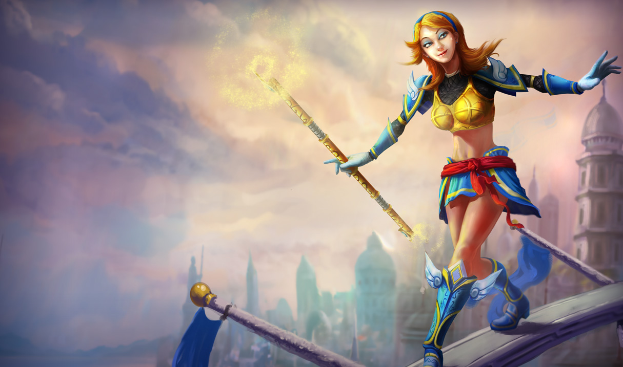 Lux luxanna league of legends skin original select game