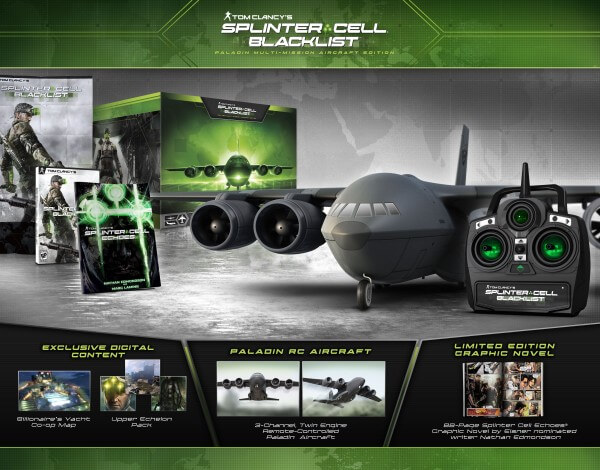 Splinter Cell Blacklist Paladin Multi-Mission Aircraft Edition