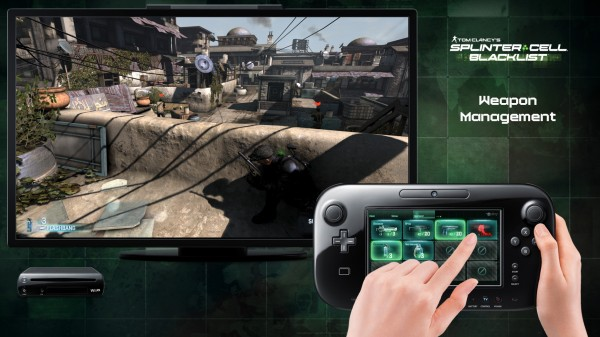 Splinter Cell Blacklist Wii-U