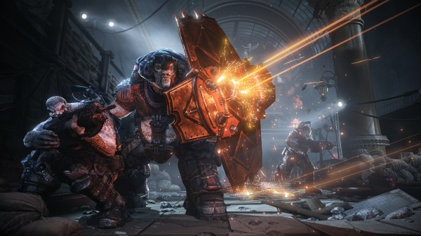 Gears of War Judgment - Multiplayer Terminal Action Shot