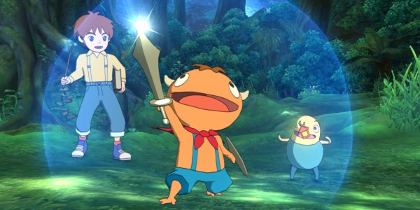 Ni No Kuni Wrath of The White Witch Ajudante Floresta
