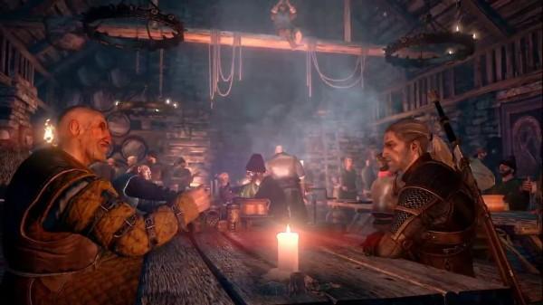 The Witcher 3 Conversa de Bar