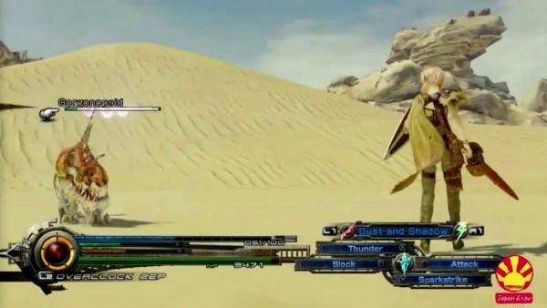 Lightning Returns Final Fantasy XIII - Desert Combat Screenshot 01