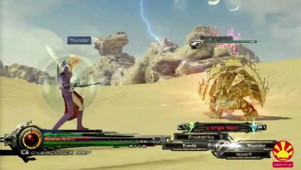 Lightning Returns - Final Fantasy XIII - Desert Combat Screenshot 02