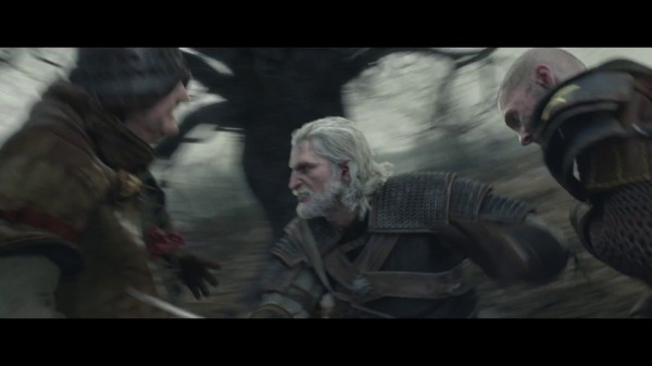 The Witcher 3 CGI Screen