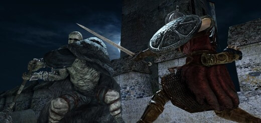Dark Souls II - Battle Under Moon - Screen