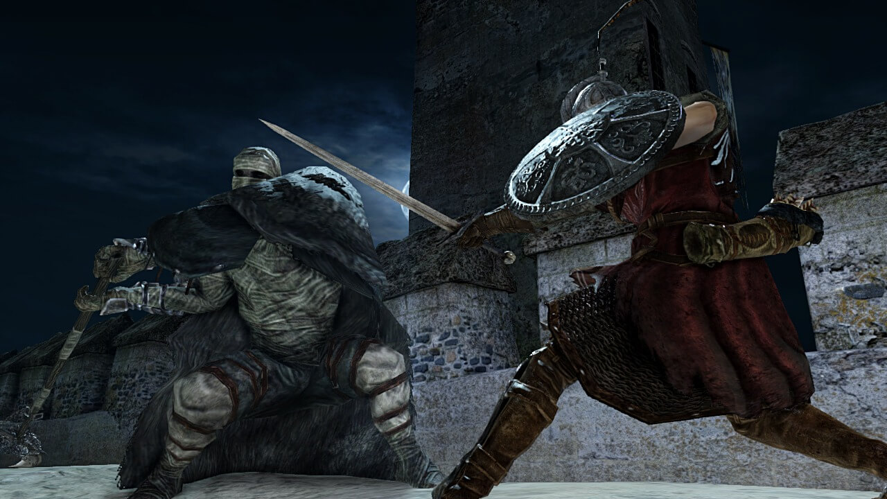 Dark Souls II - Battle Under Moon - Screen