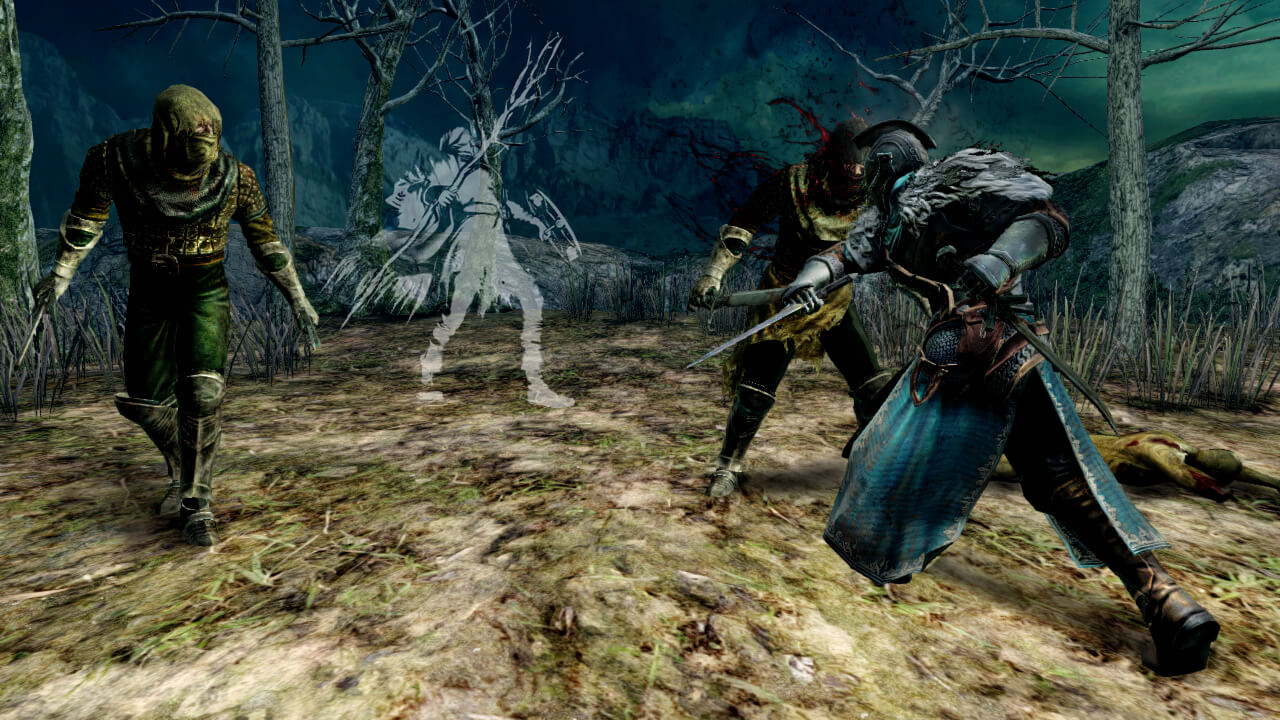 Dark Souls II - Illusion - Forest Screenshot