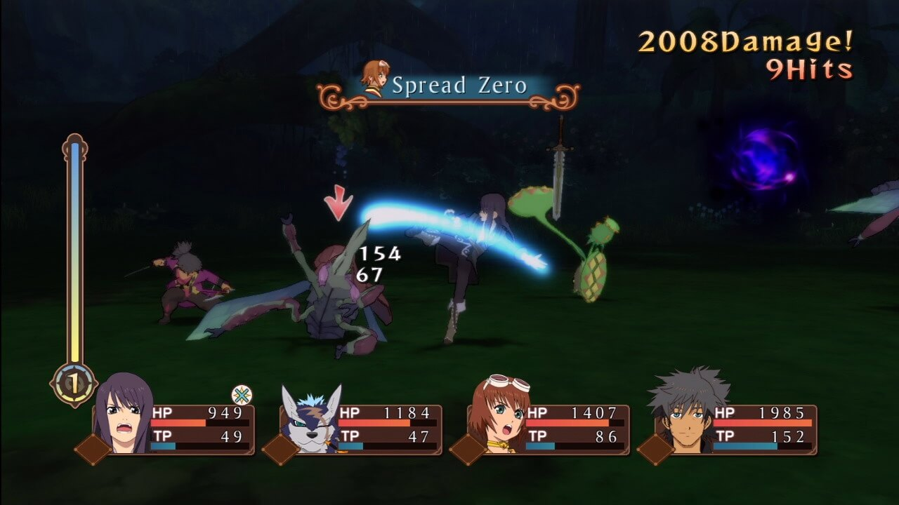 Tales of Vesperia - Battle Screenshot - Xbox 360