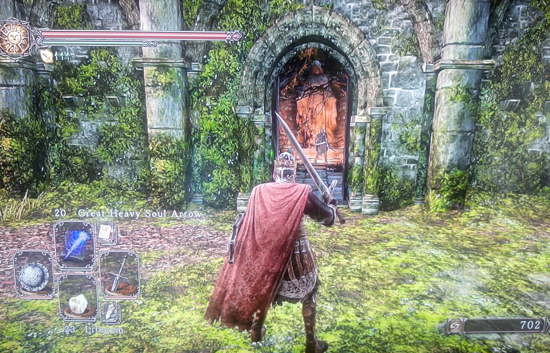 Dark Souls II - Cardinal Tower - Fora do Bonfire