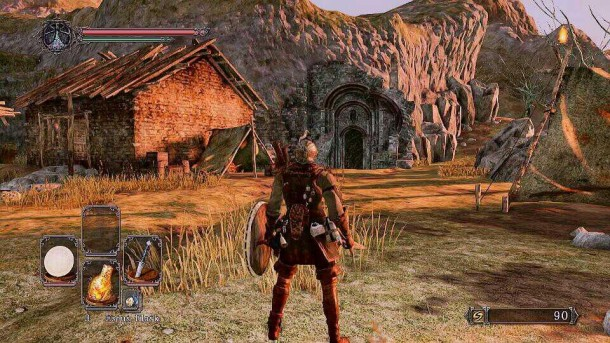 Dark Souls II - Majula - Entrada - Heide Tower