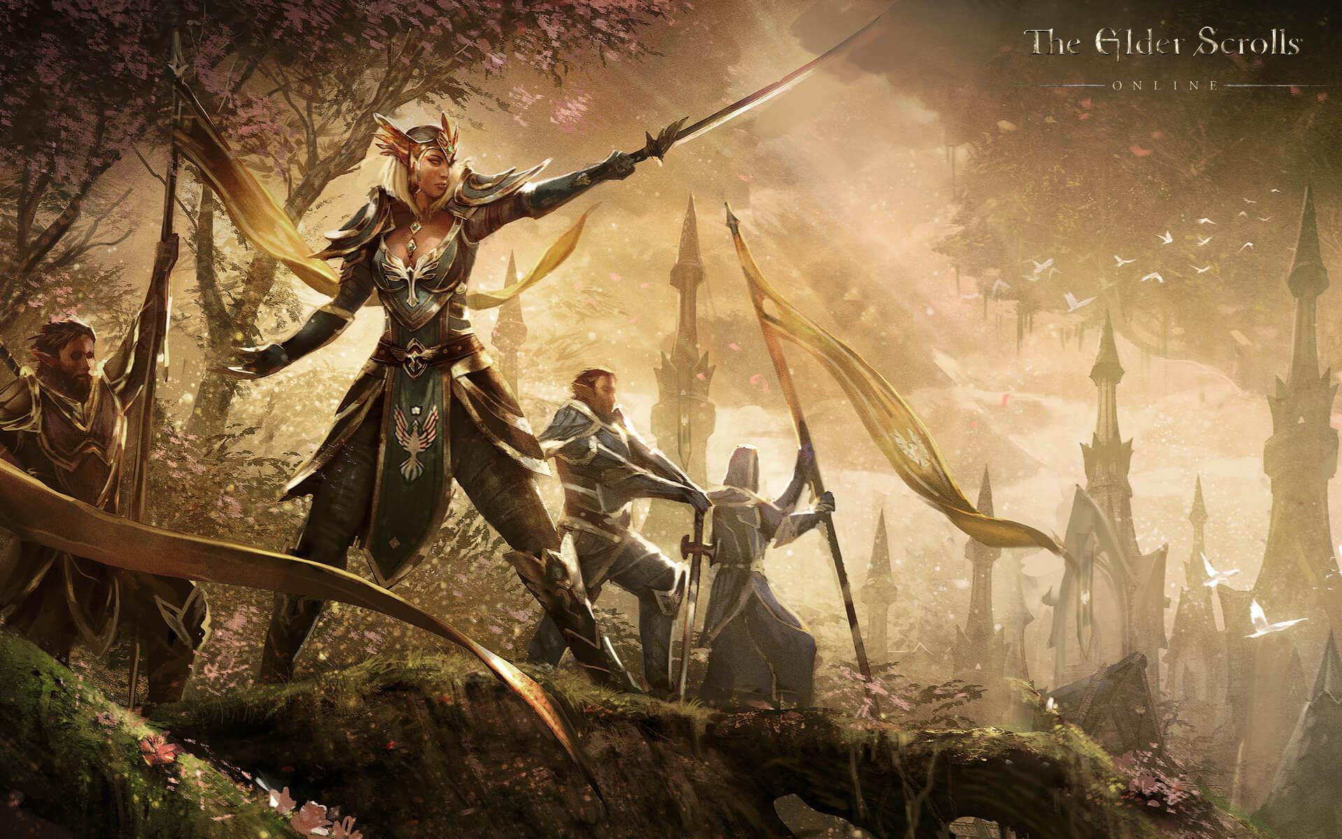 The Elder Scrolls Online - Wallpaper HD - Queen Ayrenn - 1920x1200
