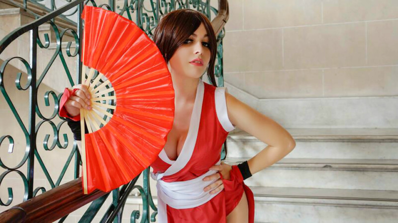 Cosplay da Mai Shiranui - The King of Fighters - Por LifeisaFiction Cosplay 06