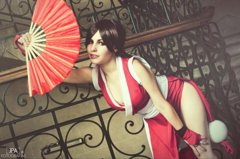 Cosplay da Mai Shiranui - The King of Fighters - Por LifeisaFiction Cosplay 12