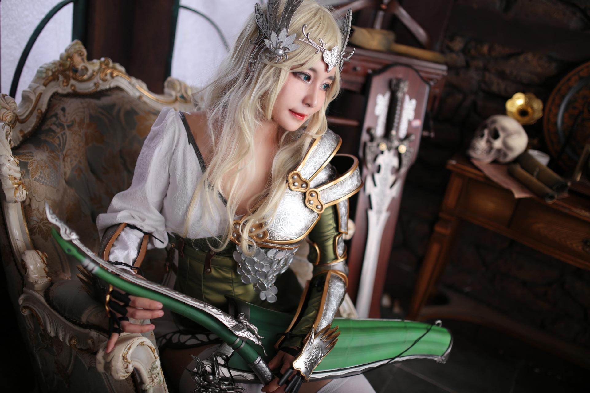 Black desert online cosplay