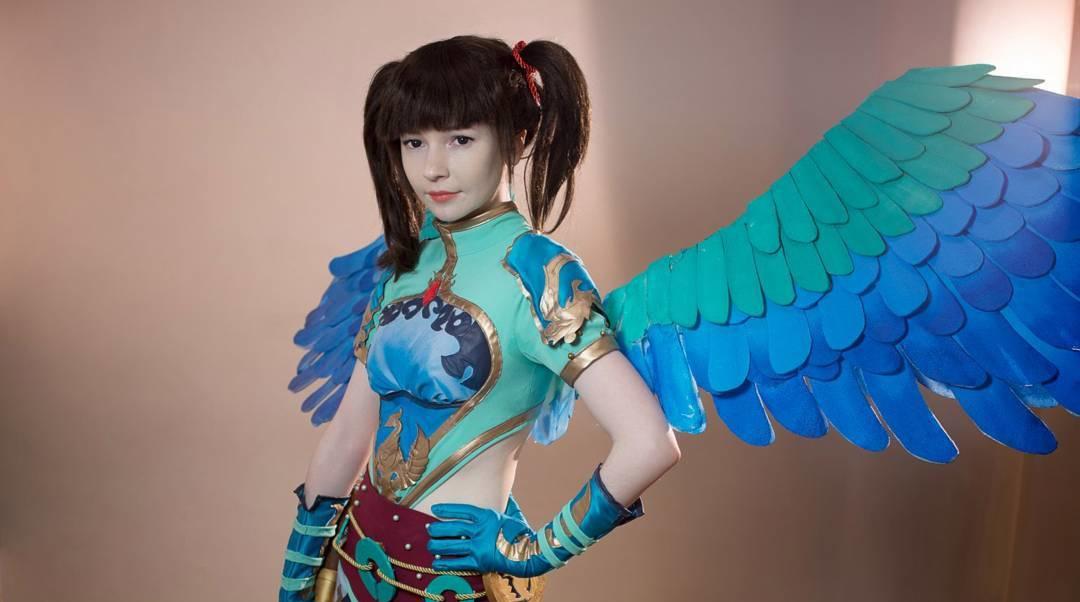 Smite Cosplay - Jing Wei Capa