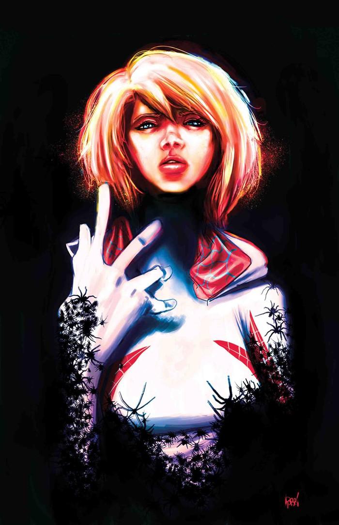 Spider Gwen Cover - Gwenom