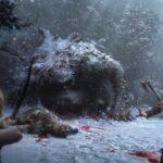Caça e exploração nas novas artes conceituais de God of War no PS4