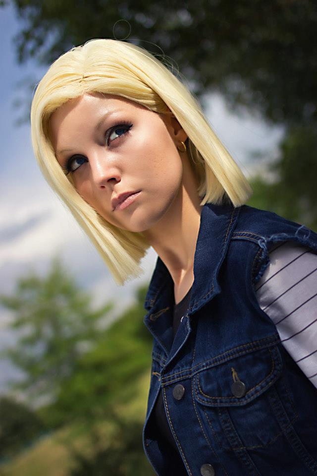 Linda Cosplay da Android 18 - Dragon Ball - Por Liechee 06