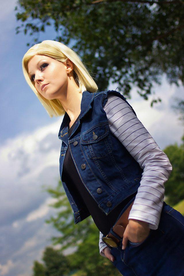 Linda Cosplay da Android 18 - Dragon Ball - Por Liechee 07