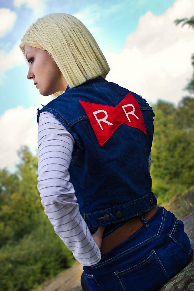 Linda Cosplay da Android 18 - Dragon Ball - Por Liechee 09