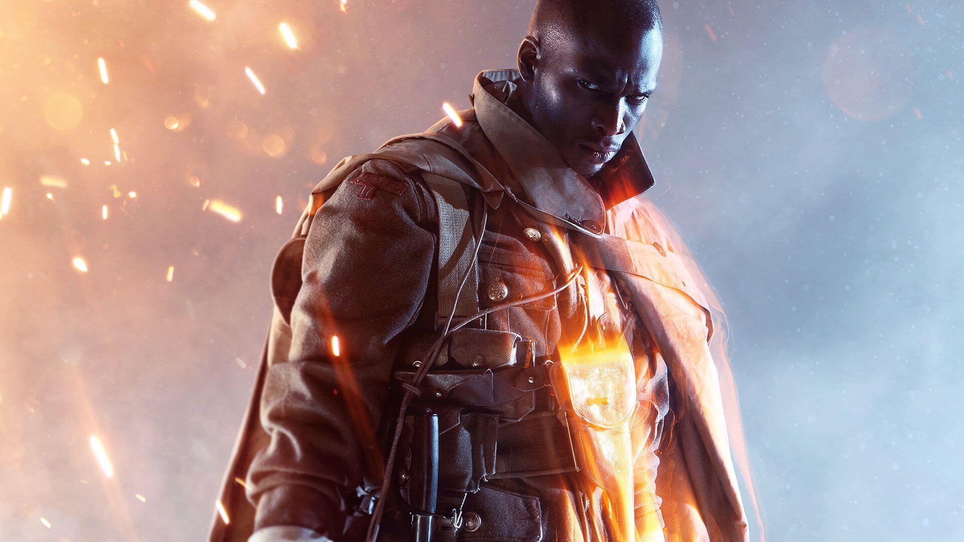 Battlefield 1 - KeyArt com Soldado