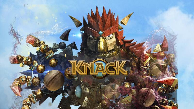 KNACK - PS4 KeyArt Screen