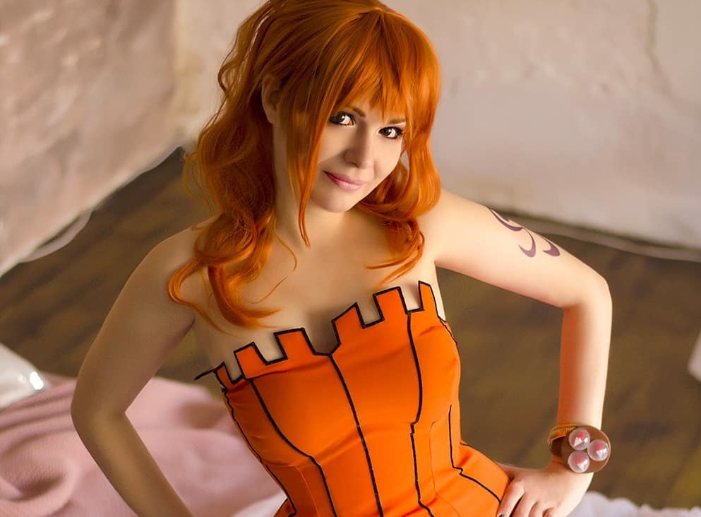 Nami Halloween Cosplay Feminino - One Piece - Topo