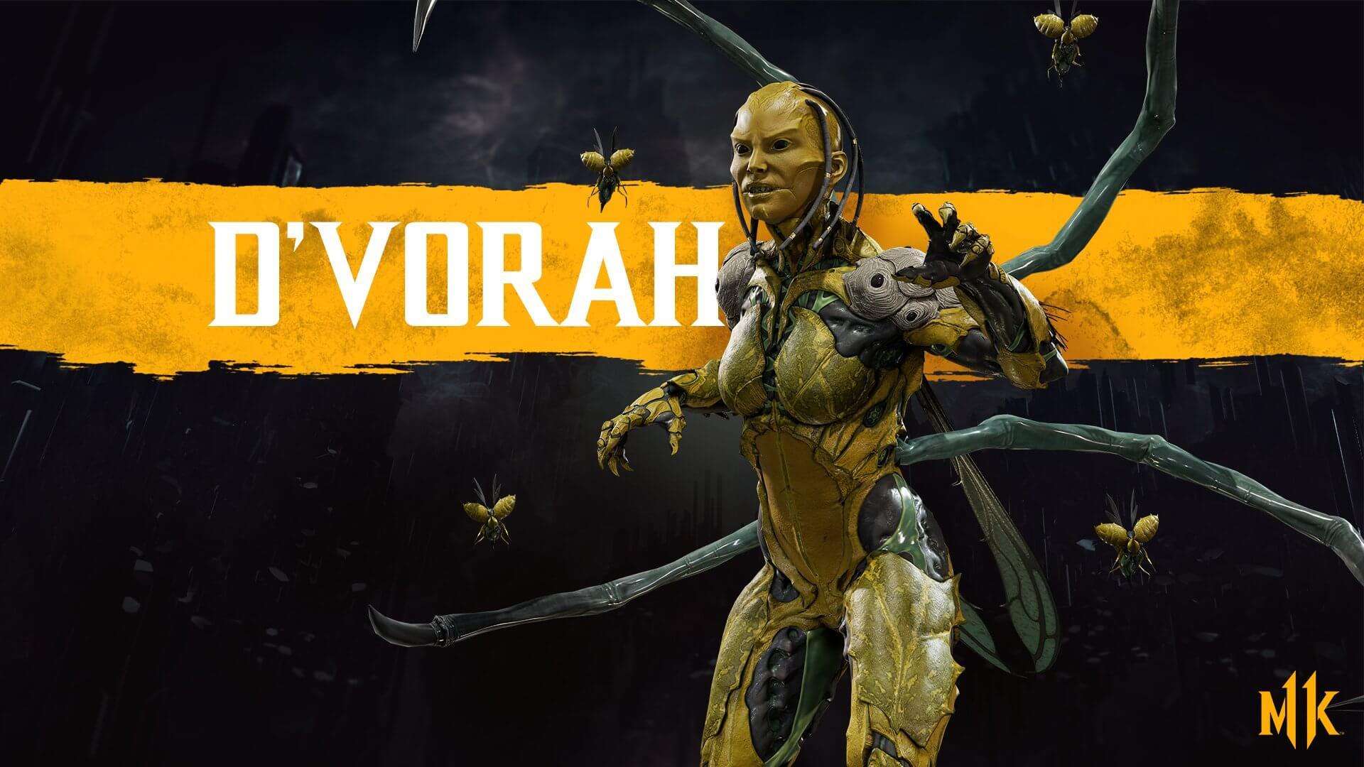 Dvorah em Mortal Kombat 11