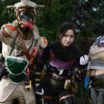 Bloodhound, Wraith e Lifeline nestes cosplays incríveis de Apex Legends!