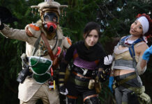 Apex Legends Cosplays - Wraith Lifeline e Bloodhound
