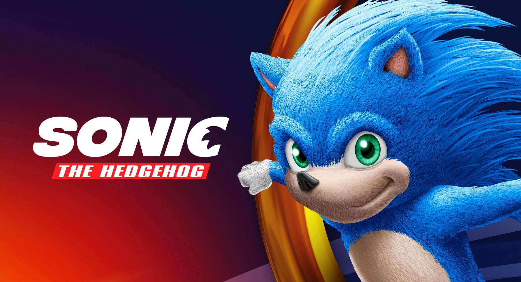 Imagem do Sonic Filme
