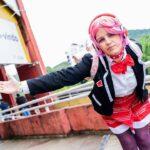 Veja um belo cosplay da Skye em versão escolar, de Paladins