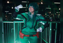 Deku Cosplay Feminino - My Hero Academia - Animes