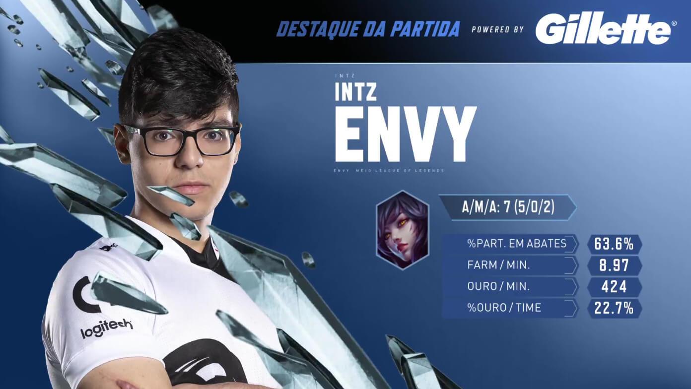 Envy foi o destaque do quinto jogo da final do CBLOL 2019
