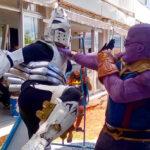 Cosplays: Quando o Ingenium, de My Hero Academia, decide enfrentar o Thanos!