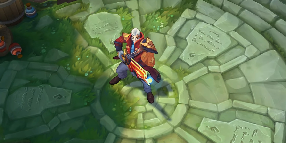 League of Legends - Graves Professor - Skin Academia de Batalha 2019 - 03