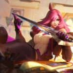 Veja como ficou a nova skin Katarina Academia de Batalha, de League of Legends