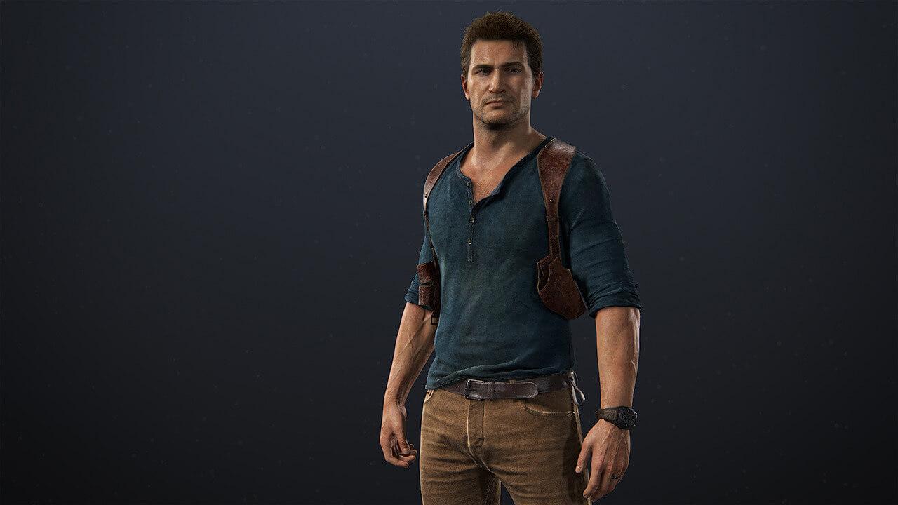 Nathan Drake - Imagem do personagem para referência de cosplays