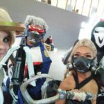 Cosplays de Overwatch no Anime Friends Rio