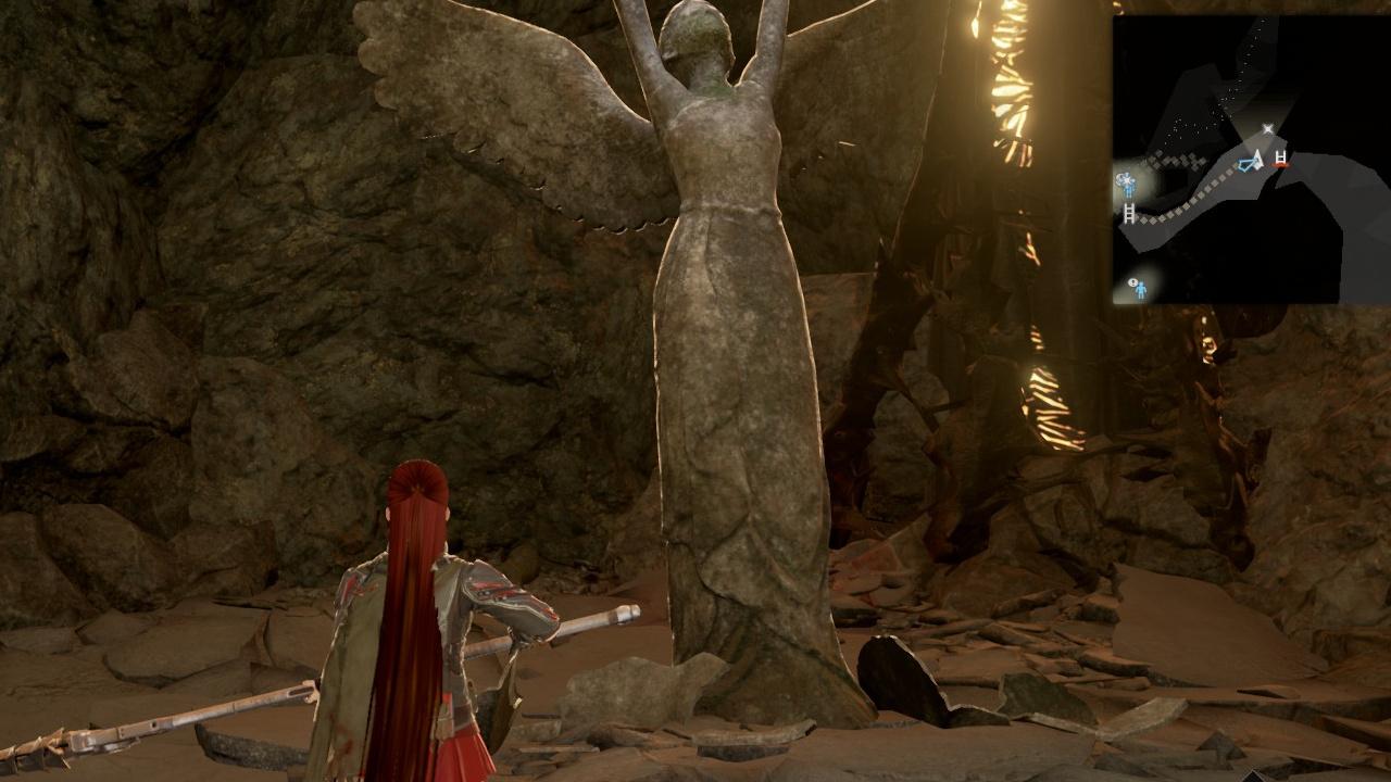 Code Vein - Achando a estátua da deusa na cidade em ruínas - Topo
