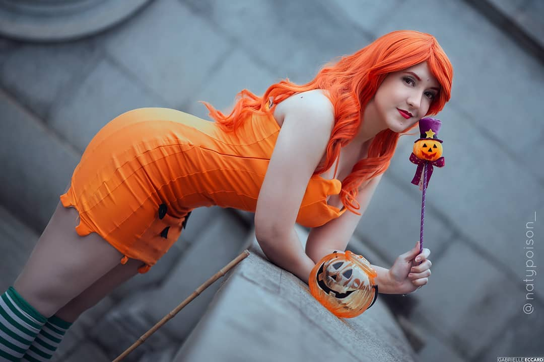 Nami Cosplay - Vestido de Halloween - One Piece 02