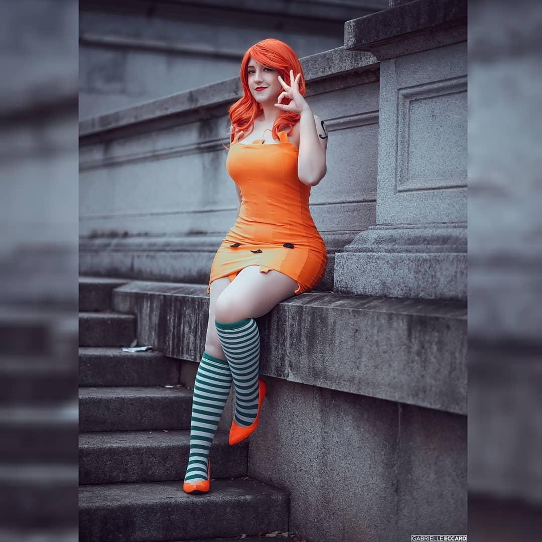 Nami Cosplay - Vestido de Halloween - One Piece 1