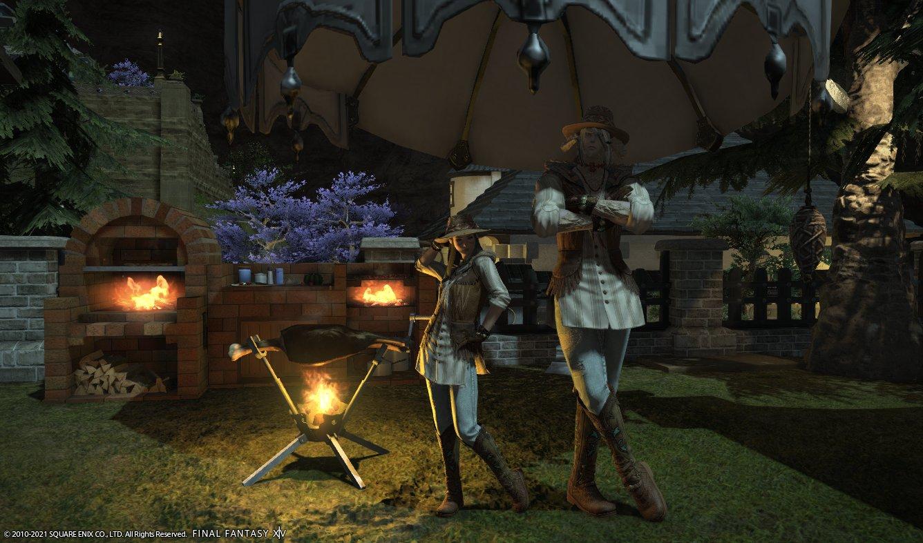 GameHouse jogando Final Fantasy XIV