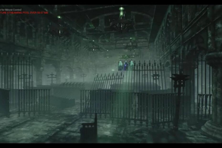 Sala gótica que foi usada em fake news de Elden Ring
