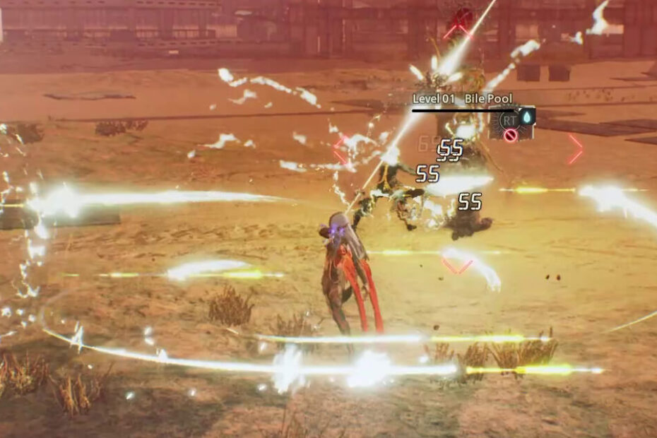 Scarlet Nexus - Gameplay screen 1